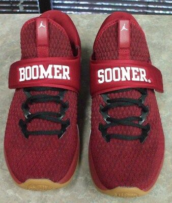 8f963e8b3f32d1 OKLAHOMA SOONERS JORDAN Trainer 3 Shoes Football NIB All Sizes Nike ...