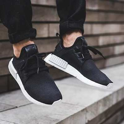 eb0e1231f NEW Adidas NMD XR1 Boost Mens 11.5 Running Shoes BY9921 Black White DOUBLE  BOXED