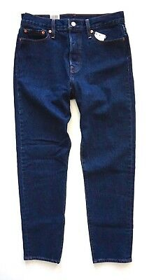 Levi's Levis 228610020 High Rise Tapered Wedgie Fit Dark Jeans Something Cheeky
