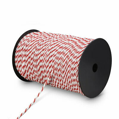 Giantz 500m Stainless Steel Polywire Poly Tape Electric Fence (FIK-ROPE-500M)