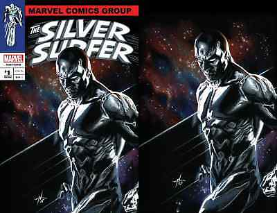 Defenders Silver Surfer 1 Dell Otto Igc Virgin Variant 2 Pack Set Pre-Sale 12/12