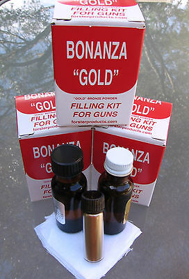 *Forster Gold Filling Inlay Kit -  Customize Guns - Engraving Or Lettering