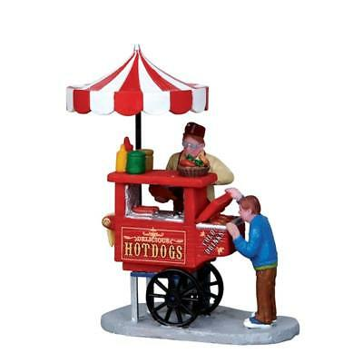 Lemax Christmas Holiday Village Carnival Hot Dog Cart #12932