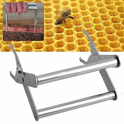 Bee Hive Beekeeping Equip Frame Holder Lifter Capture Grip Stainless Steel Great