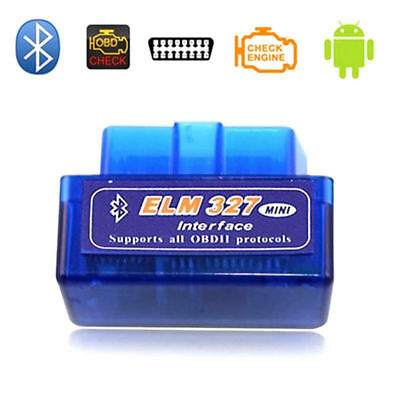 ELM327 OBDII OBD2 Bluetooth Car Diagnostic Tool Auto Scanner for Android V2.1 AU