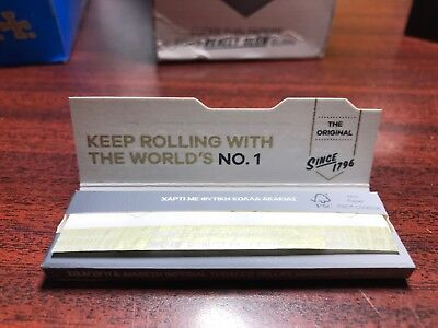 NEW - PACK OF 50 Rizla Silver Cigarette Rolling Papers