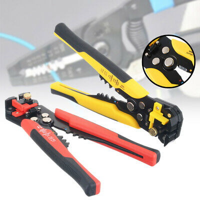 "8"" Self-Adjusting Insulation Wire Stripper Cutter Crimping Pliers Crimper Tool"