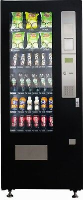 Small (M 2000) Combination Snack and Drink Vending Machine for sale