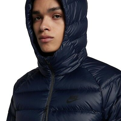 7b6b413d8 Nike Sportswear Guild Down Hooded Winter Packable Jacket 866027-451 2Xl $225