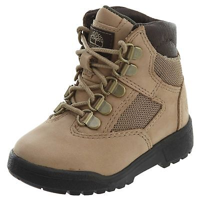 TIMBERLAND 6 INCH FIELD BOOT LIGHT GREEN BLACK BABY SIZE TODDLER BOOTS A1JC1