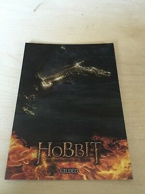 RARE Cryptozoic The Hobbit : The Desolation of Smaug Foil Insert Set # S6