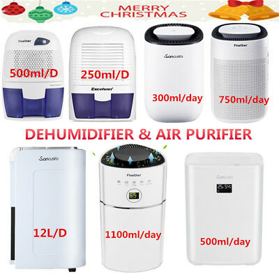 500ML-12L/D Dehumidifier Electric Air Dryer Moisture Damp Home Bathroom Bedroom