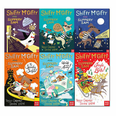 Shifty McGifty and Slippery Sam Series 6 Books Collection Set By Tracey Cordero