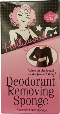 Hollywood Deodorant Removing Sponge, Secret No 12 of 37. Shipping is Free