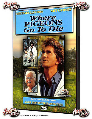 WHERE PIGEONS GO TO DIE - (DVDr, 1990) Starring Art Carney and Michael Landon