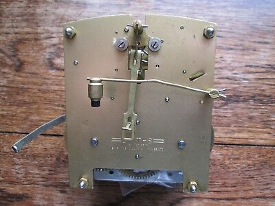 A Smiths Striking Mantel Clock Movement Model F7B With Silent Lever
