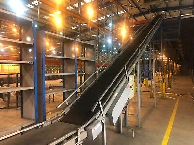 Belt driven Conveyor with Roller track