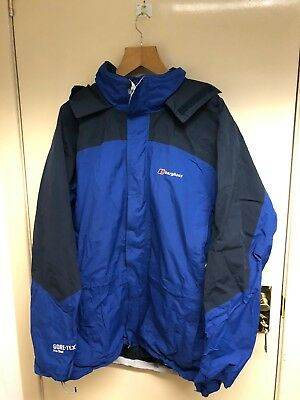 well known 100% high quality shop BERGHAUS GORE TEX Pro Shell Mountain Cycling Jacket Xxl 54 ...