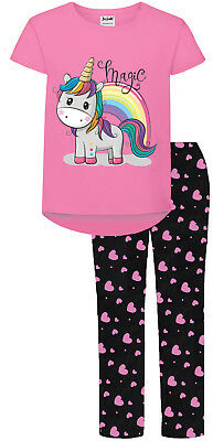 Unicorn Pyjamas Pjs Girls Teens