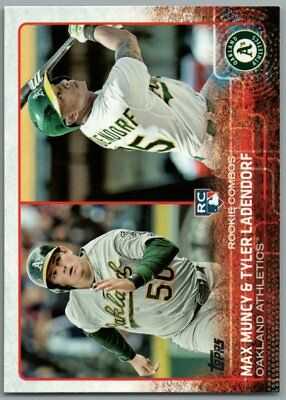 Tyler Ladendorf 2015 Topps Update Rookie Lot Responsible Max Muncy 3