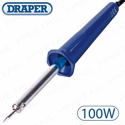 PROFESSIONAL 100W ELECTRICAL SOLDERING IRON Powered Hobby/Craft/Repair Tool 230V