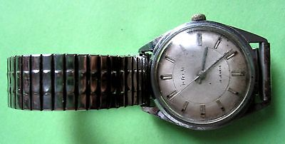 Vintage Antique  Prim  Watch  Made  In  Czecho Slovakia  Working