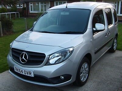 Mercedes Benz Wheelchair Accessible Vehicle Mobility Adapted Disability Wav Car