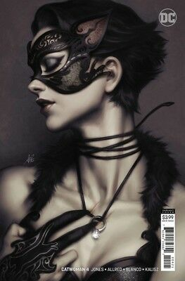 CATWOMAN #4 (2018) - Stanley Artgerm Lau Variant Cover