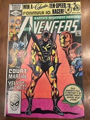 Marvel Comic Books Avengers Issues 211-213 (1981) Yellowjacket Abuse HQ Copies