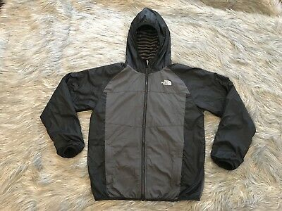 The North Face Youth Boys L 14/16 Insulated Reversible Hooded Fleece Jacket
