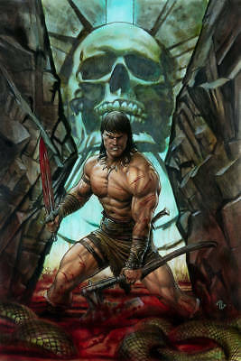 (2019) CONAN THE BARBARIAN #1 Adi Granov 1:50 VARIANT COVER