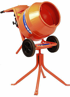 Belle Minimix 150 Cement Mixer 240V + Free Stand - New