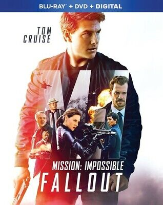 Mission: Impossible: Fallout [New Blu-ray] With DVD, 2 Pack, Digital Copy