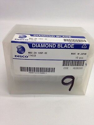 Disco Nbc-Zh 105F-Se Diamond Blade Dicing Saw Blade Adt Kns Silicon Cutting Nbc