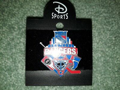 Disney Sports New York Rangers Ice Hockey Team NHL Collectable Pin Badge
