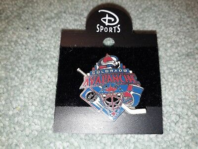 Disney Sports Ice Hockey Team NHL Colorado Avalanche Collectable Pin Badge