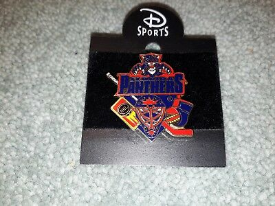 Disney Sports Ice Hockey Team NHL Florida Panthers Collectable Pin Badge