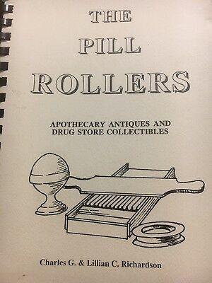 Book Pill Rollers, Apothecary Antiques & Drug Store Collectibles, 2003