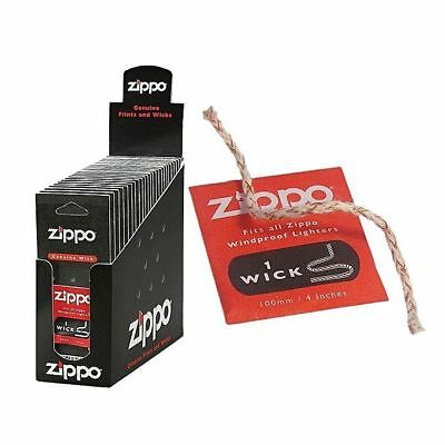 ZIPPO Genuine Wicks - 1 Pack - Lighter Windproof Authentic Wick Premium Fast