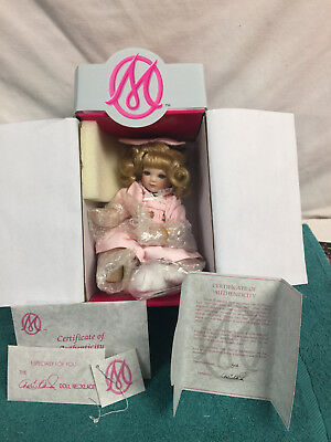Marie Osmond Tiny Tots PUPPY LOVE w/certificate of authenticity & acces. NRFB