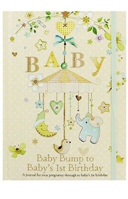 Bump To Birthday Pregnancy Journal - Baby Book