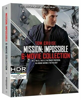 Mission: Impossible 6 Movie Collection 4K Ultra HD Blu-ray