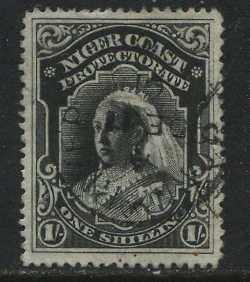 Niger Coast QV 1894 1/ used