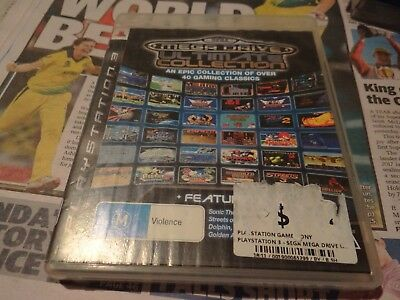Sega Mega Drive Ultimate Collection Ps3 Playstation 3
