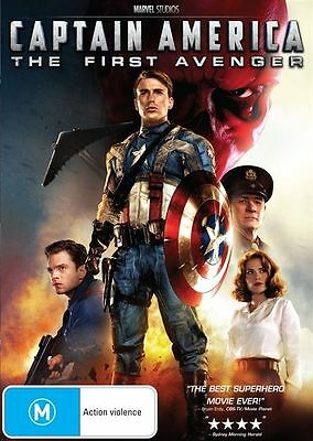Captain America - The First Avenger (DVD, 2011) new, sealed