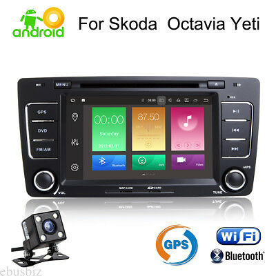 For Skoda Octavia Android 8.1 Car DVD GPS Stereo Player BT RDS Radio OBD2 Touch