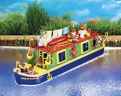 Sylvanian Families Calico Critters Riverside Canal Boat