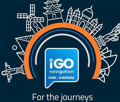 IGO SOFTWARE - USA and Canada 2016 Q3 Map for Android or