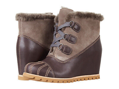 329880dfd5c UGG ALASDAIR WOMEN'S wedge bootie size 6 color slate leather 1018889 ...