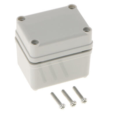 Outdoor Waterproof Adaptable Junction Box Enclosure Plastic ABS 65×50×55mm